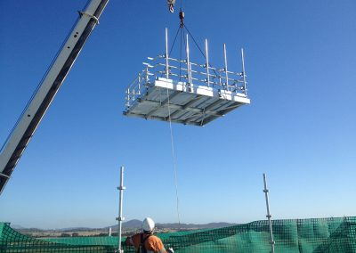 Roof Top Antenna Mount Structures / Steel Structures
